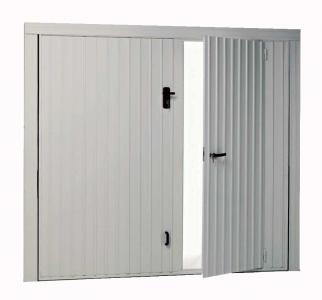 Porta in metallo e legno fai da te consigli materiali for Porta basculante per cani fai da te
